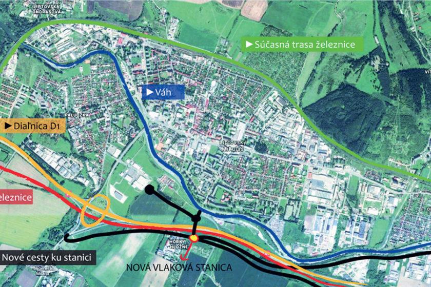 Obr. 1 Mapa