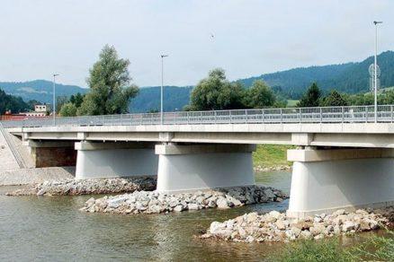 Pohľad na nový most po spustení do prevádzky