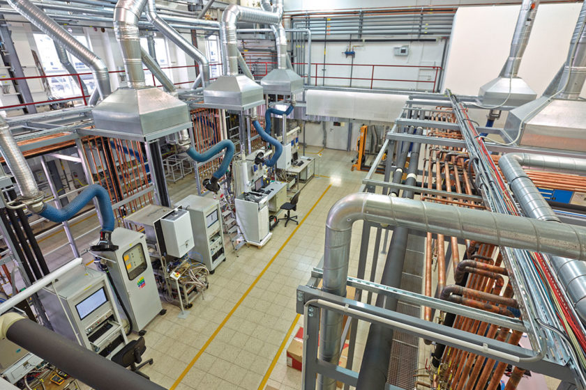 Testovacie centrum v Protherm Production