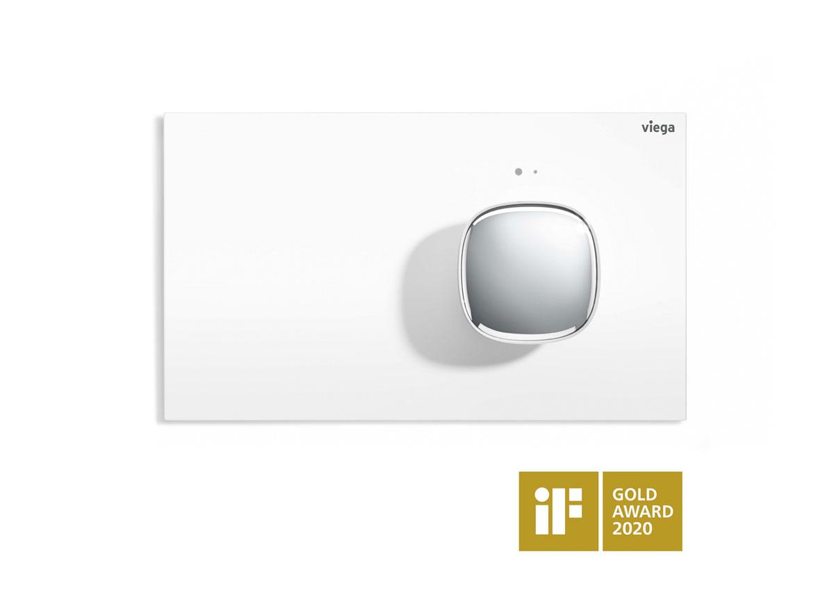 Zlatá cena na iF Design Award 2020: 78 dizajnérskych expertov z celého sveta z viac ako 20 krajín sa zhodlo na ocenení vynikajúcej dizajnérskej práce na ovládacej doske Visign for More 202 v podobe žiadanej zlatej známky iF Label.