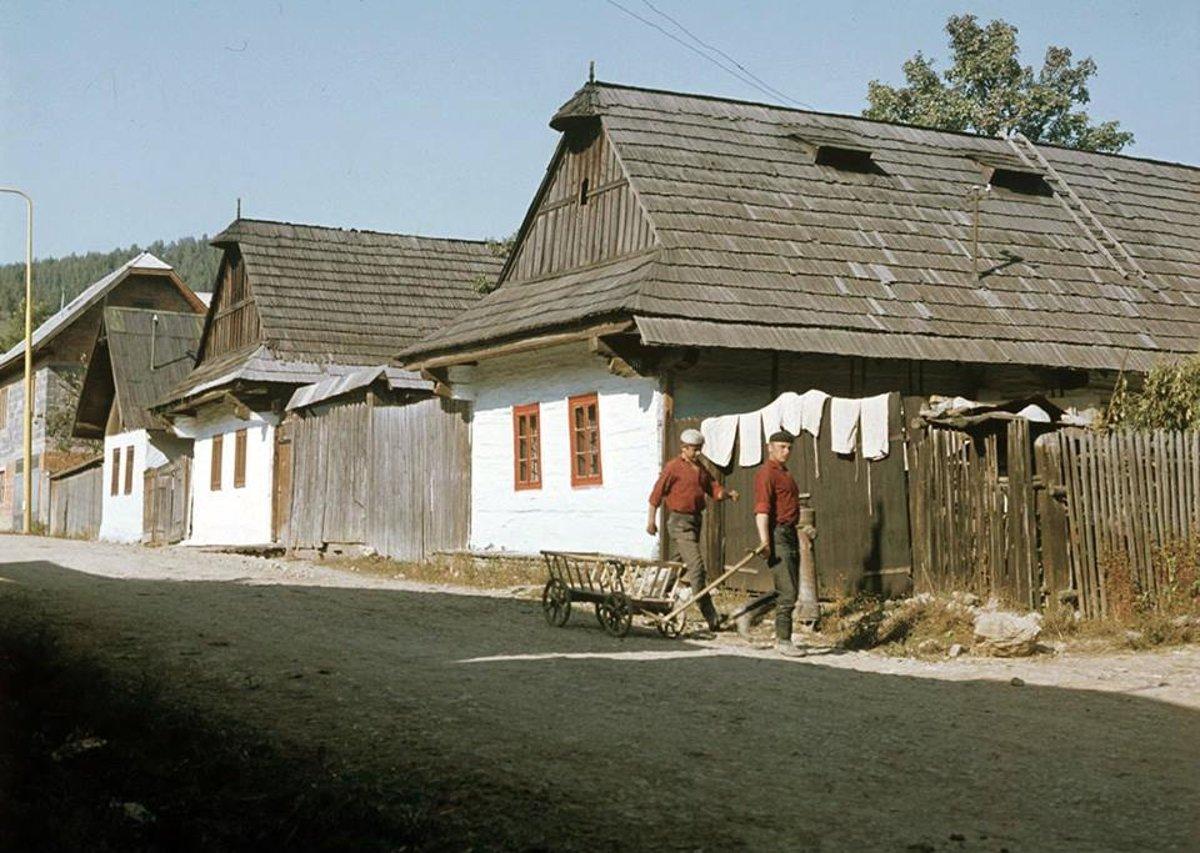 Zrubové domy Heľpa