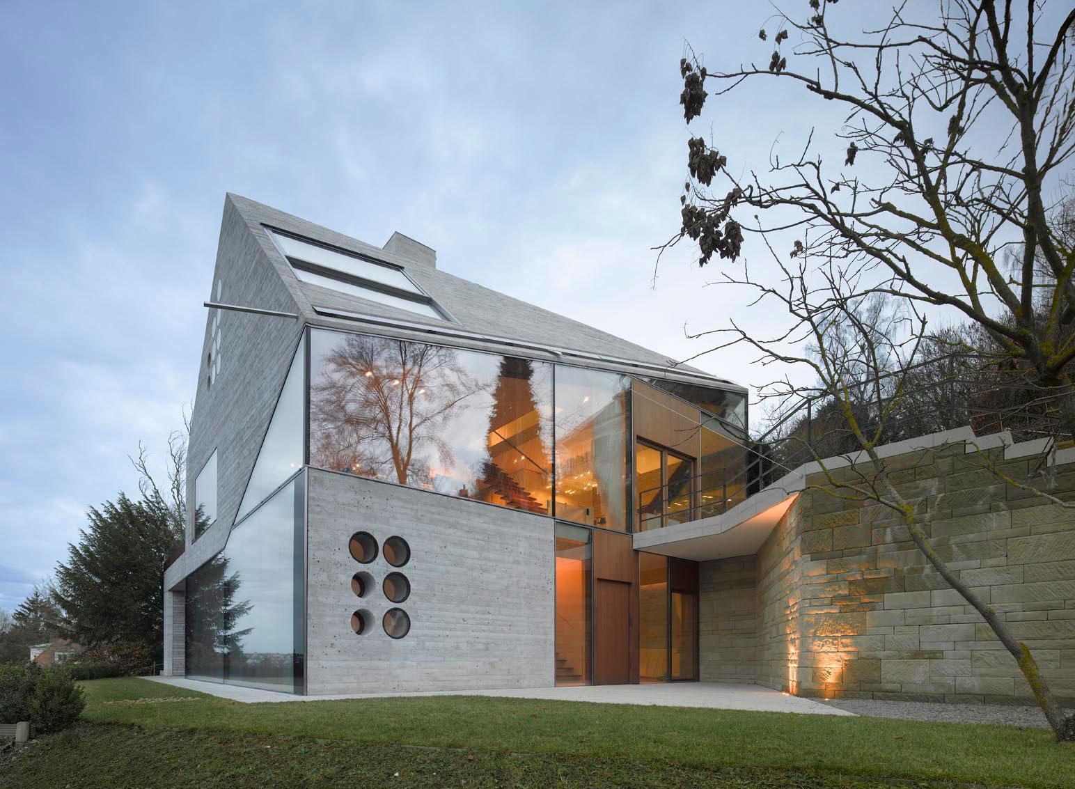 betonový dom
