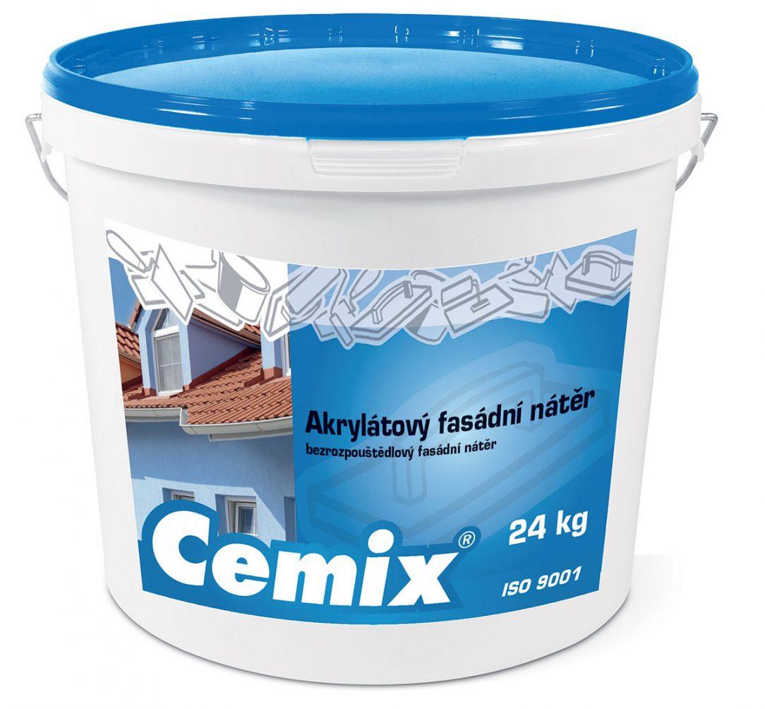 Cemix Akrylátový fasádny náter FA
