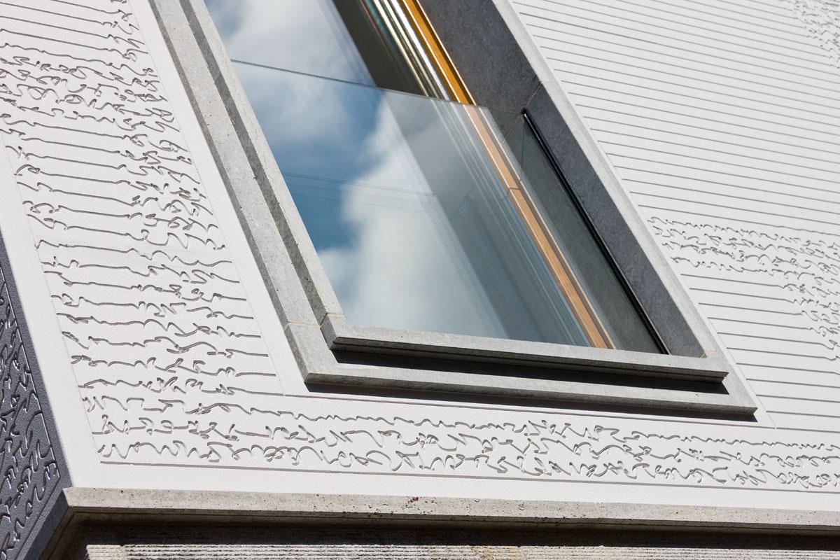 Fasádne panely líniové prvky ako aj profily StoDeco je možné použiť na akýkoľvek podklad