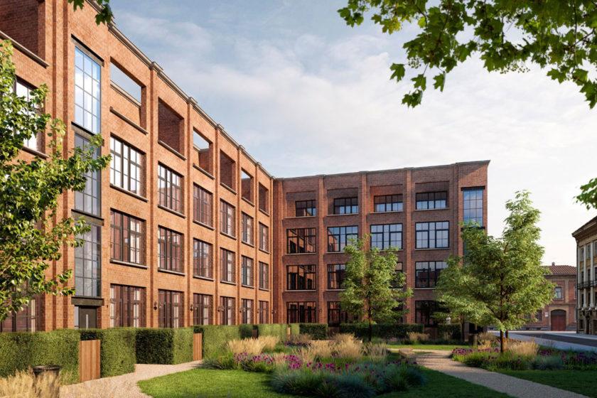 PVC profil Elegant ako súčasť industriálnej výstavby Deceuninck