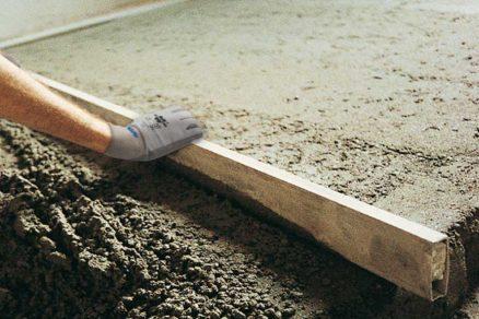 Realizácia cementového poteru Topcem Pronto