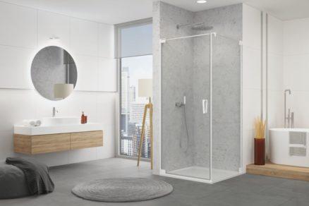 Sprchové zásteny CADURA 01