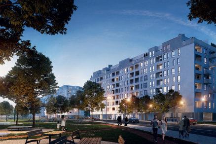 V troch bytových domoch bude spolu 360 bytov ktoré by mali byť dokončené už v druhom kvartáli 2022.