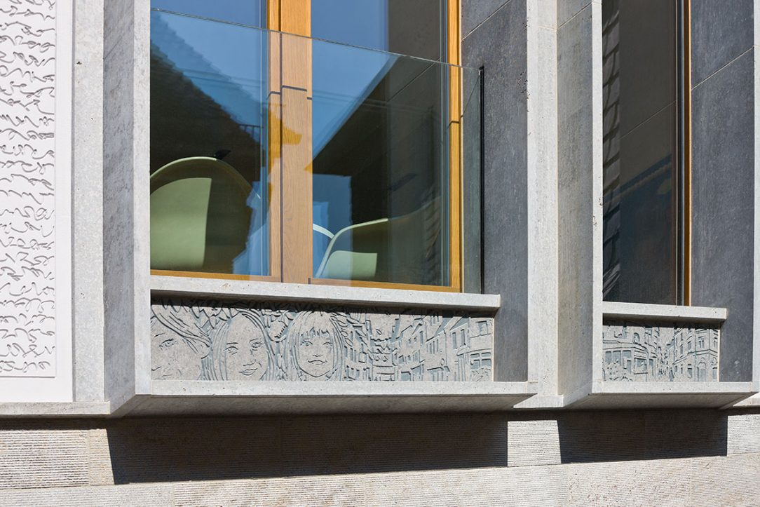 Fasádne panely StoDeco objekt Kleiner Ritter 03