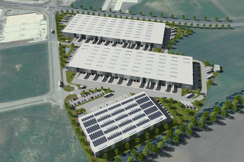 Logistický park vo Zvolene