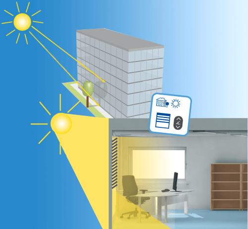Slnečná clona znižuje prichádzajúce teplo o 80