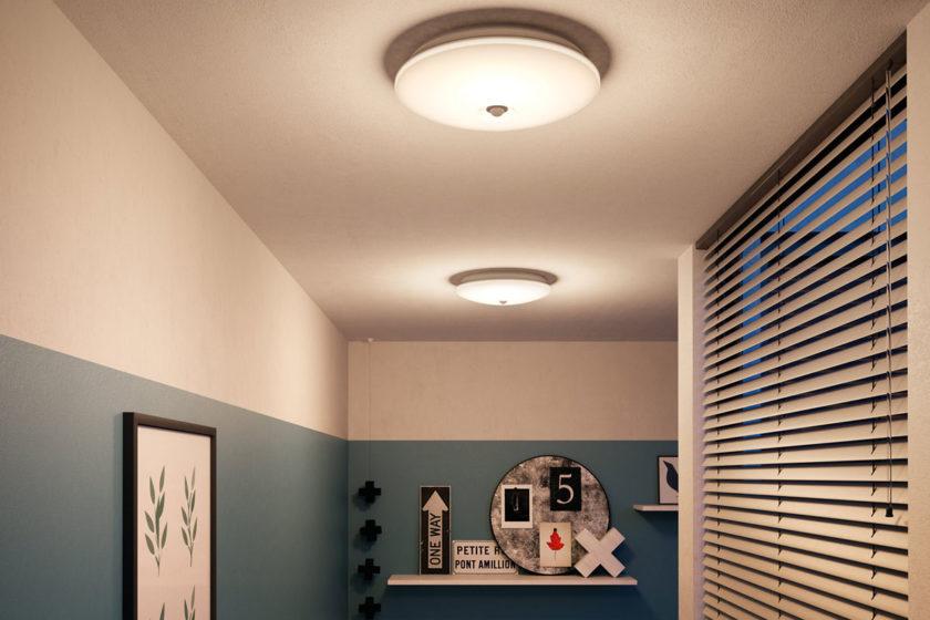 Philips 62233/31/P0 Mauve - stropné svietidlo s pohybovým senzorom