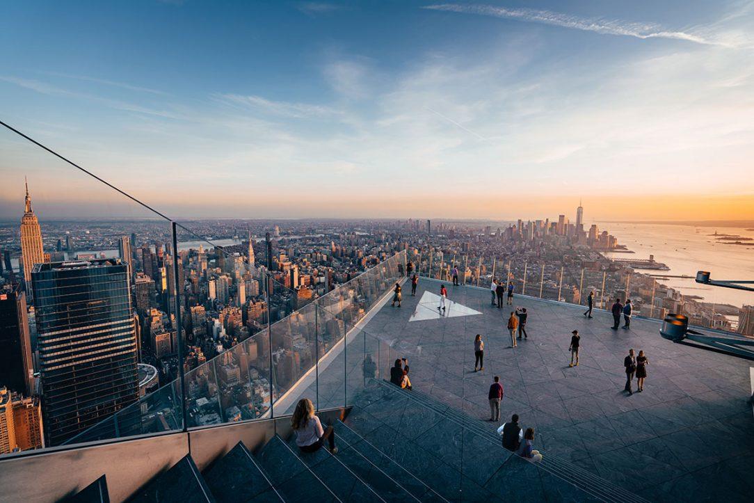 Vyhliadková plošina nachádzajúca sa vo výške 345 m je najvyššie položenou otvorenou plošinou na západnej pologuli.