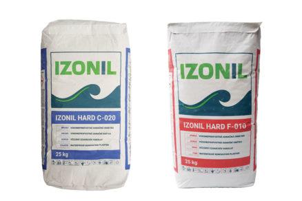 Hrubá sanačná omietka IZONIL HARD C-020 a Jemná sanačná omietka IZONIL HARD F-010
