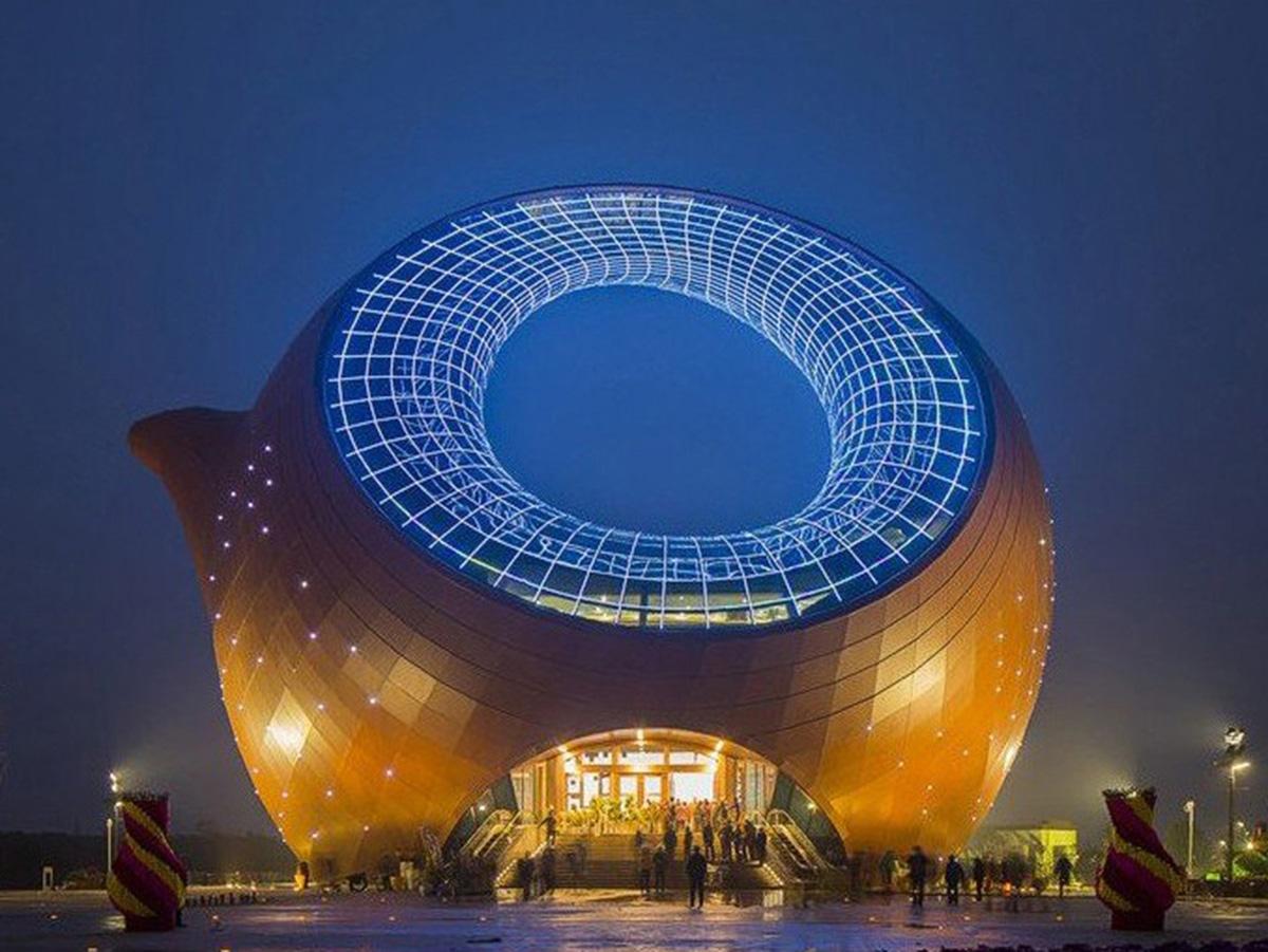 Výstavné centrum Wuxi.