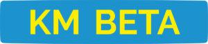 KM BETA logo 2020 light