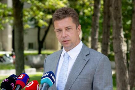 Andrej Doležal - minister dopravy a výstavby SR