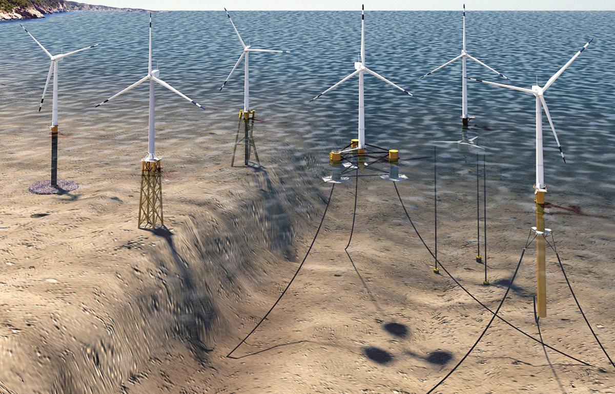 Offshore veterná elektráreň