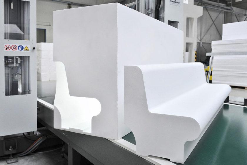 Príklad výrobkov z recyklovaného EPS