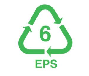Recyklacny znak EPS