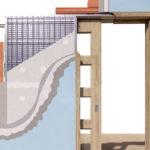 Zabudovanie stavebného puzdra do muriva