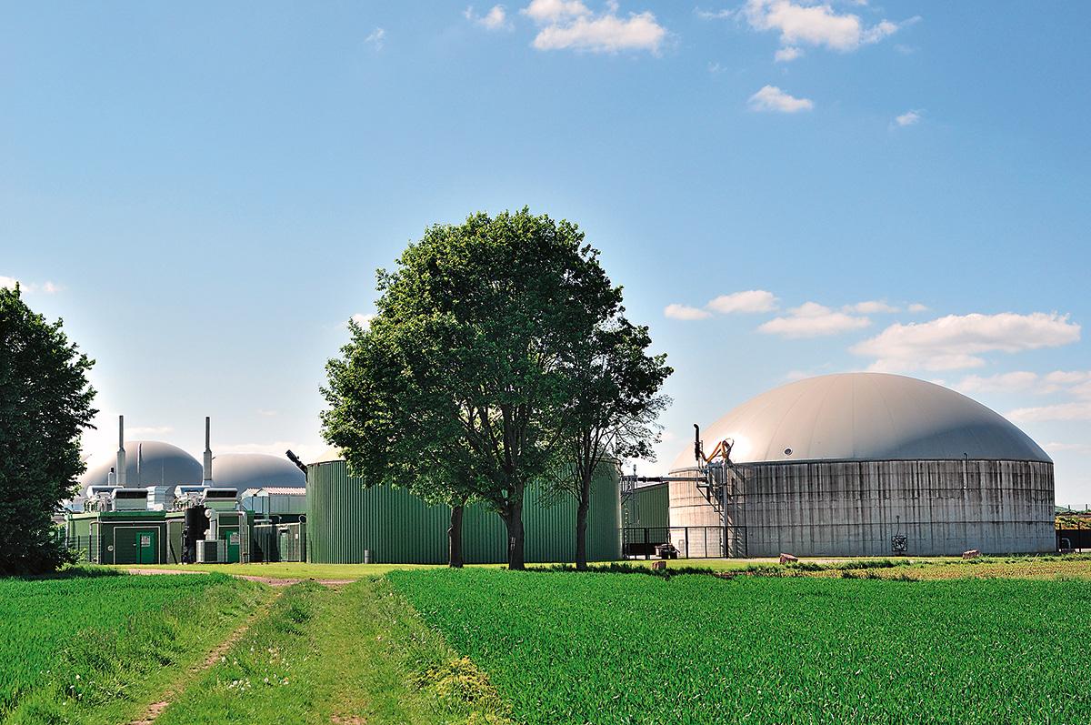 Zariadenia na energetické využívanie skládkového plynu z čistiarní odpadových vôd