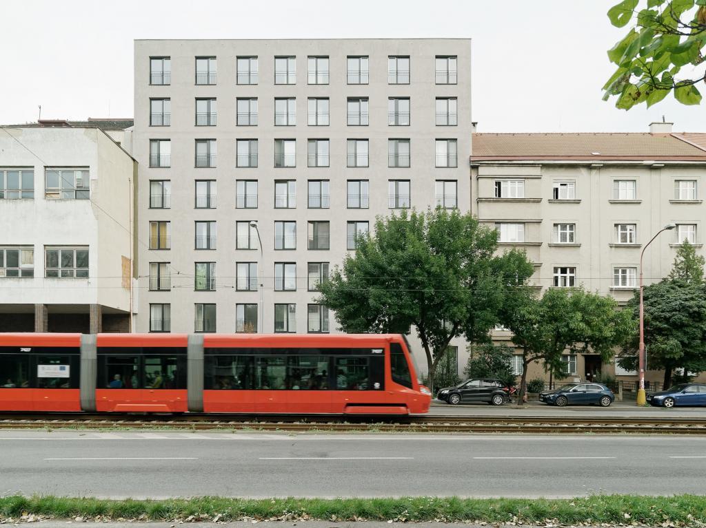 BDR - Bytový dom Račianska / Bratislava