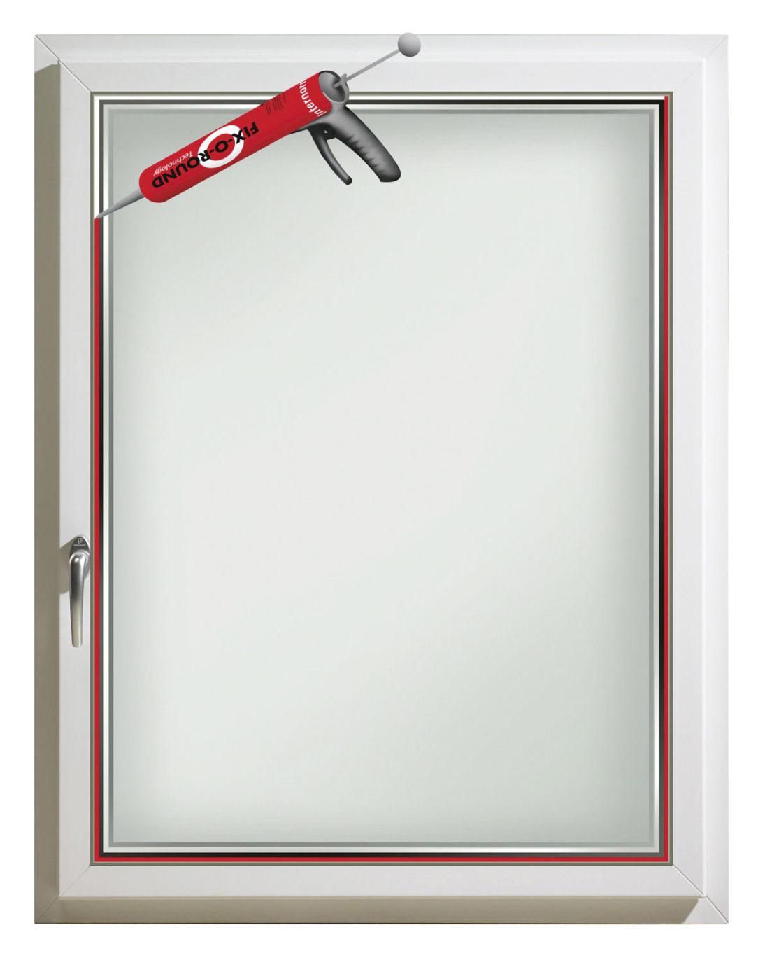 I-tec Zasklenie - neprerušená celoobvodová fixácia okna s rámom