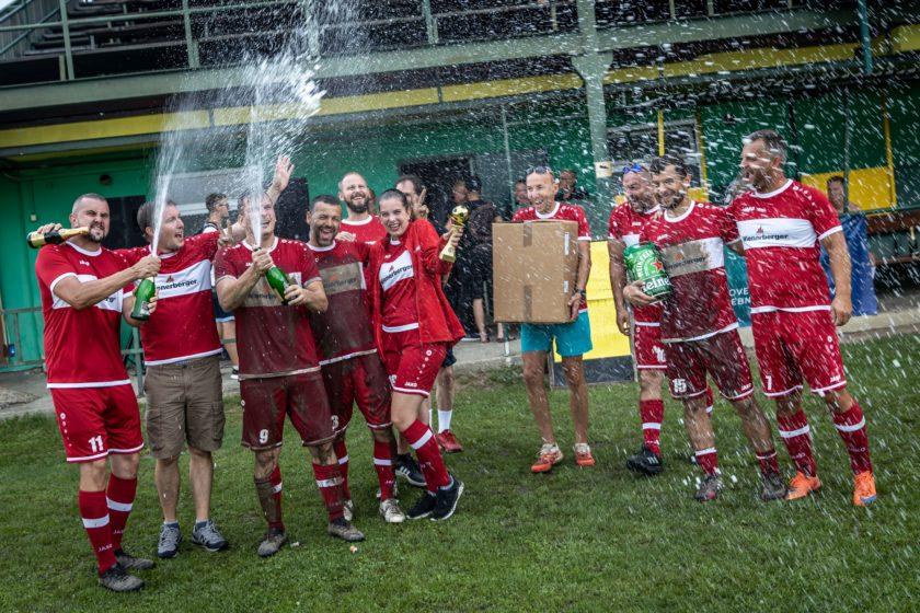 Víťazstvo si odnieslo družstvo Wienerberger