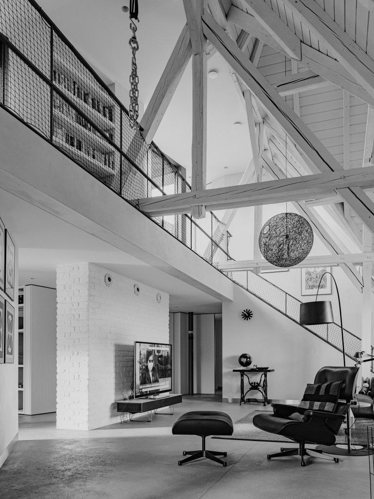 Rekonštrukcia podkrovného bytu na Godrovej ulici
