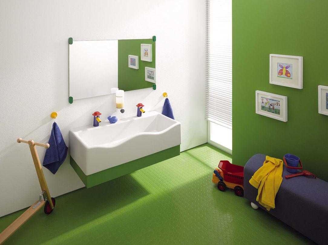 elný panel umývadiel možno zladiť s interiérom kúpeľne.