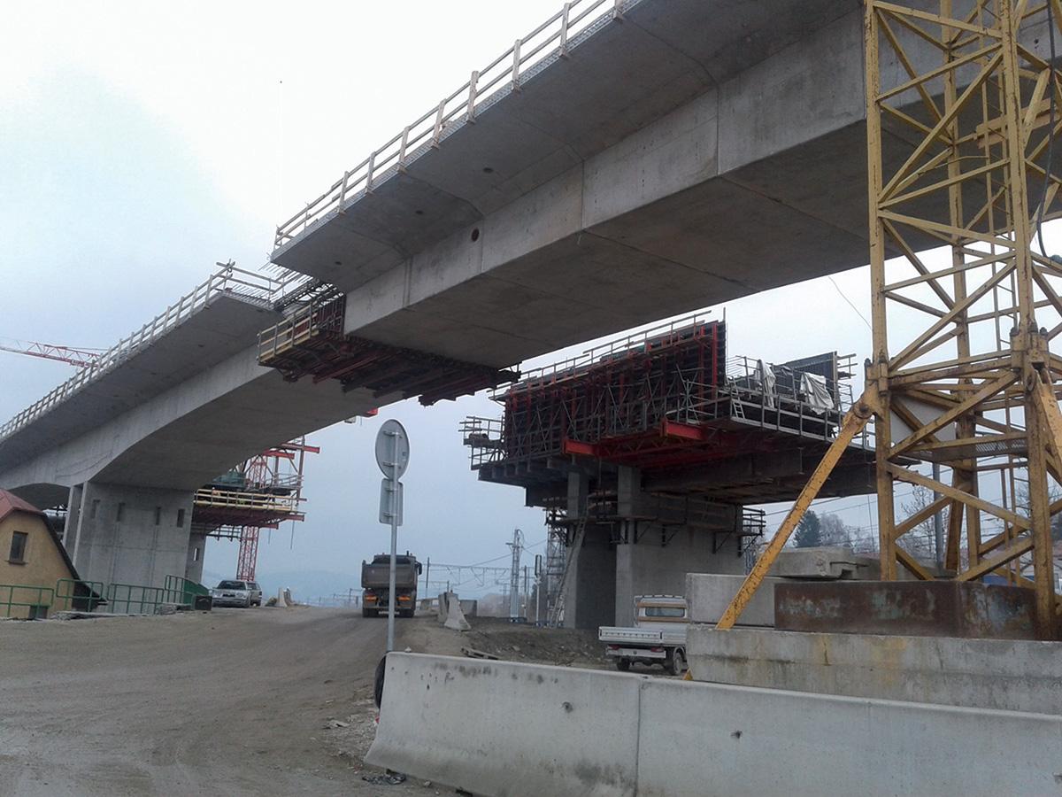 Realizácia estakády Podzávoz na D3 Čadca, Bukov – Svrčinovec