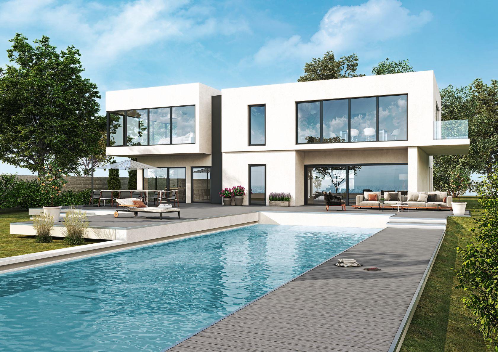 Profilový systém Elegant je alternatívou k hliníkovým oknám so zachovaním vlastností PVC