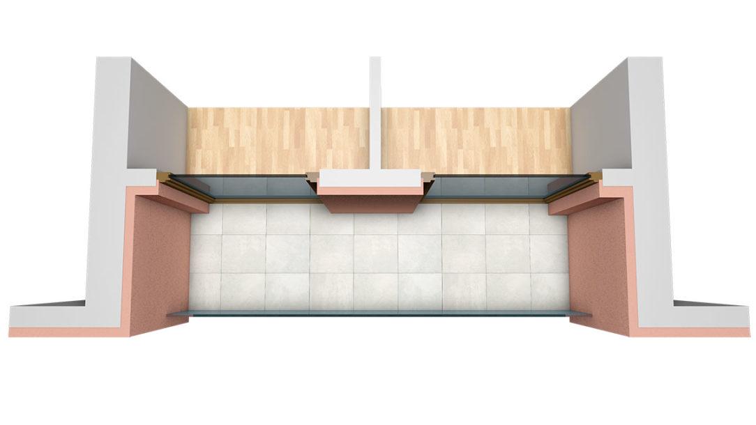 Aplikáciu zatepľovacieho systému StoTherm Resol stačí realizovať s izolačnou vrstvou s hrúbkou 90 mm a na ostení okien s hrúbkou 25 mm. Zväčší sa tým nielen použiteľný priestor balkóna či lodžie, ale súčasne dôjde k dostatočnej tepelnej izolácii kritických miest.