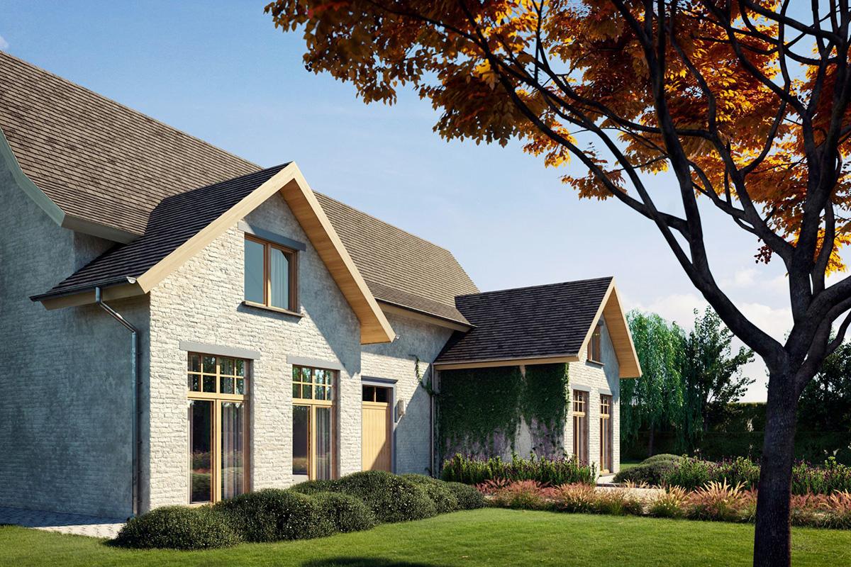 Okenný profil so vzhľadom hliníka zapadne do akéhokoľvek stavebného štýlu, hodí sa pre moderné architektonické koncepty, rustikálne i vidiecke domy.