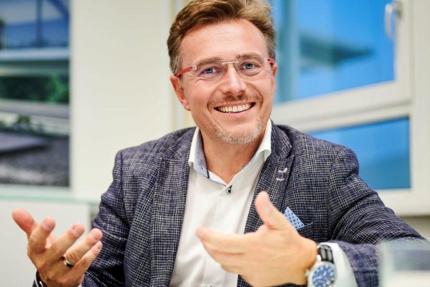 Tomáš Klíma obchodný riaditeľ Deceuninck pre región strednej a východnej Európy s