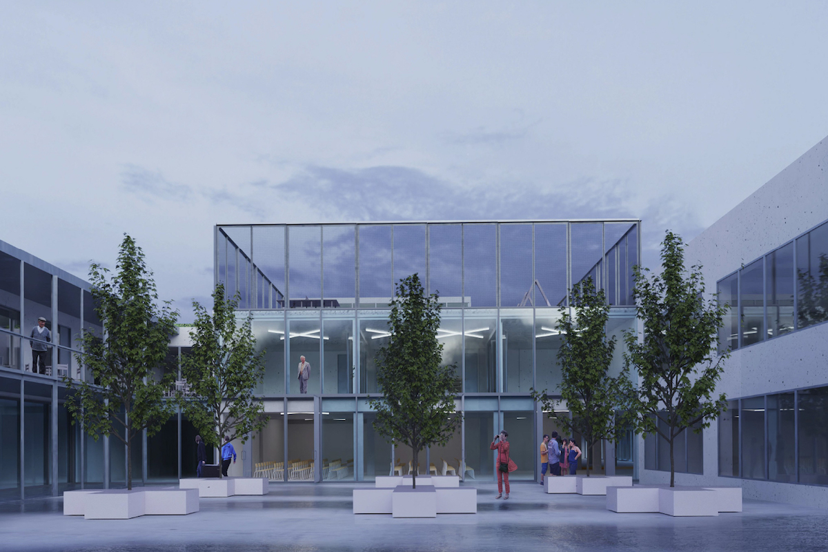 obcianska stavba, zvolen, vizualizacia