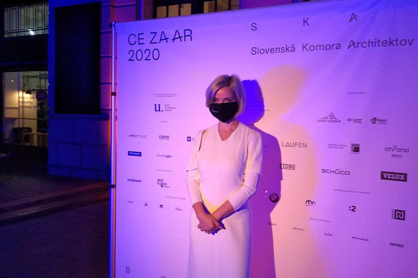 Manažérka ocenenia CE ZA AR Oľga Miháliková