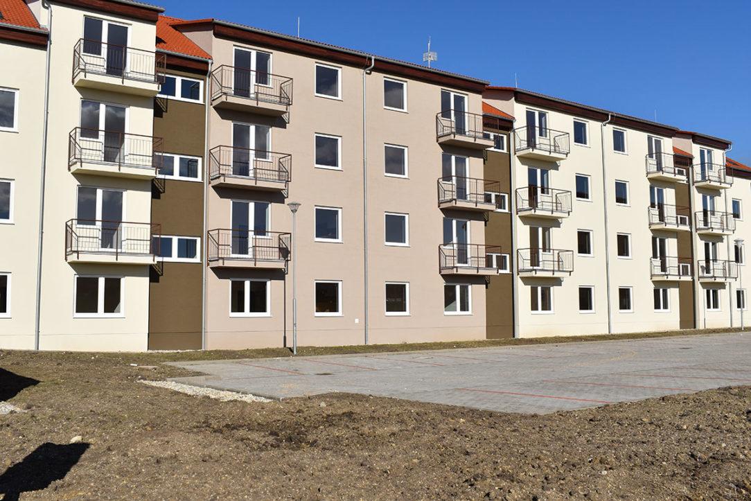 Nájomné byty v Skalici boli postavené aj vďaka podpore zo ŠFRB.