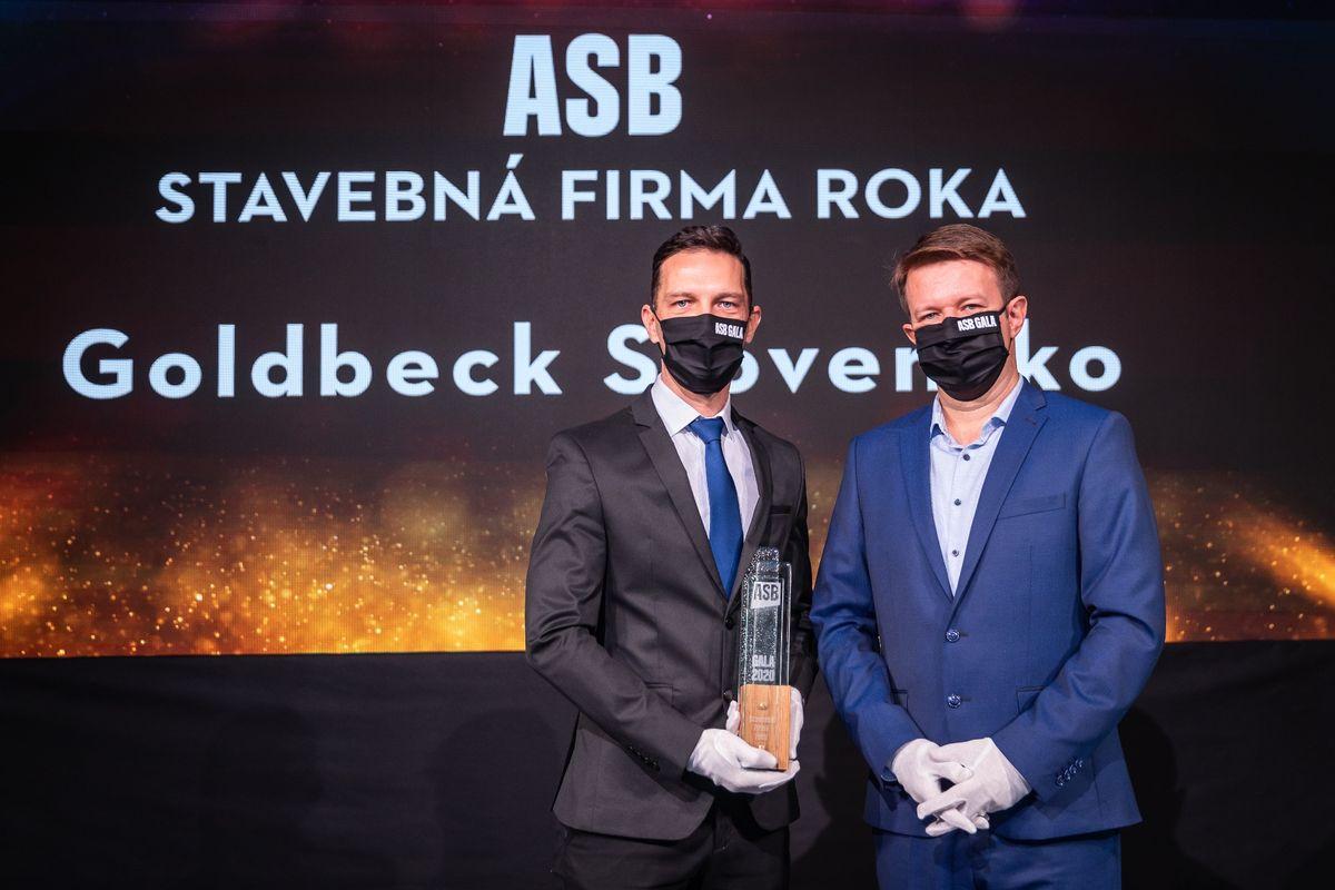Ladislav Rusnák, Goldbeck Slovensko; Martin Fenčák, Peikko
