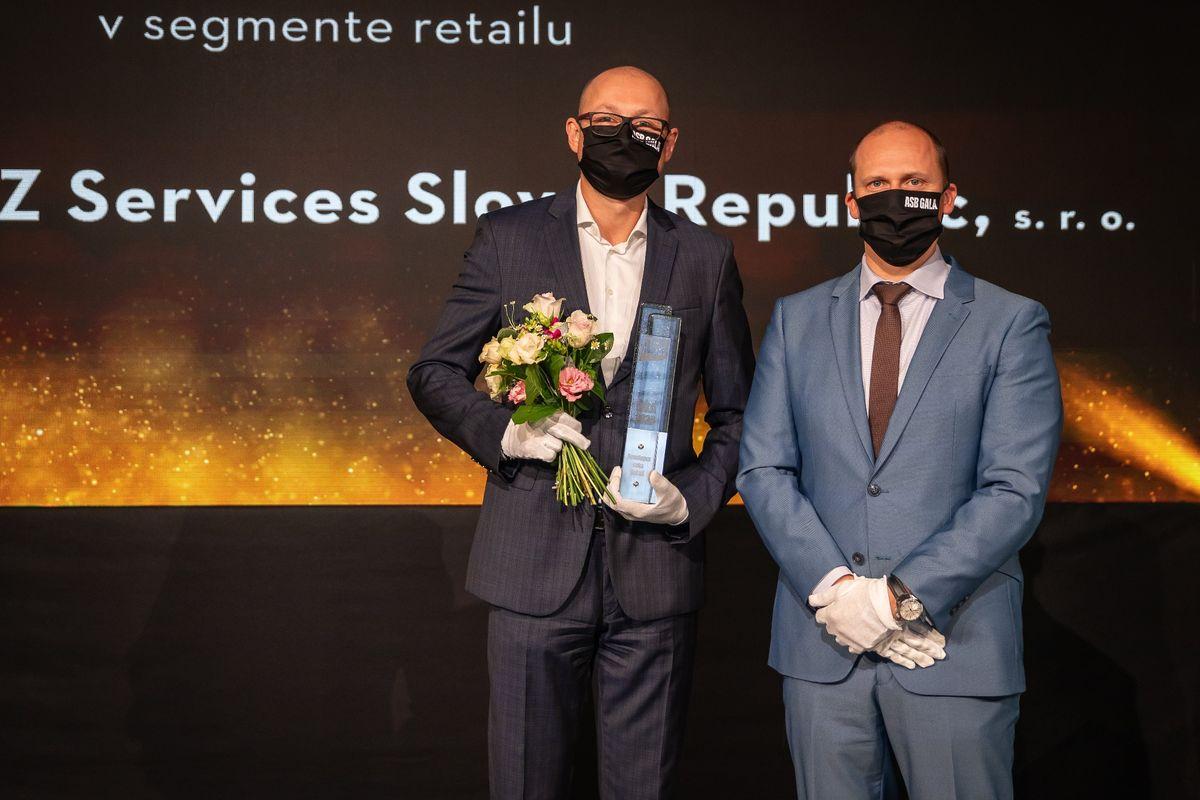 Adrián Bódis, Immofinanz Services Slovak Republic; Róbert Pátek, Metrostav Slovakia