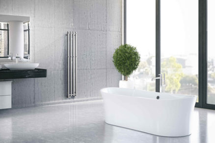 PlutoX in bathroom