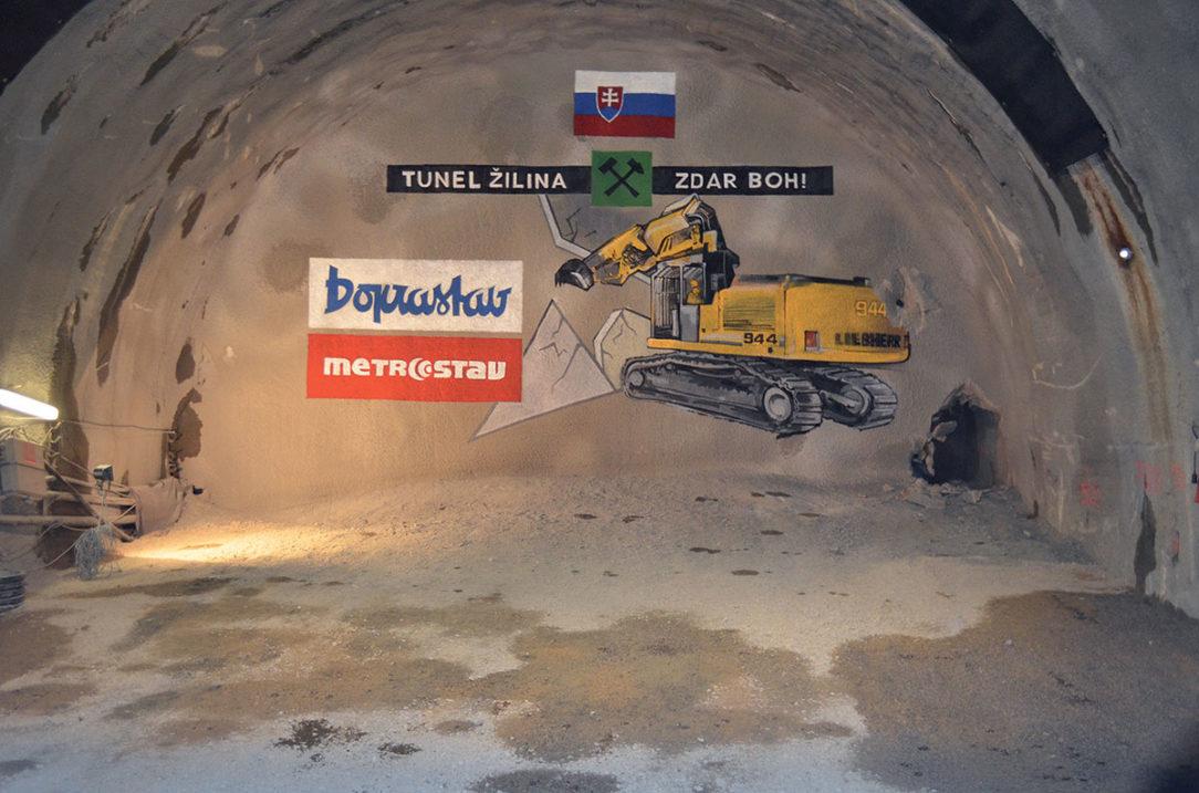 Slávnostné prerazenie tunela Žilina