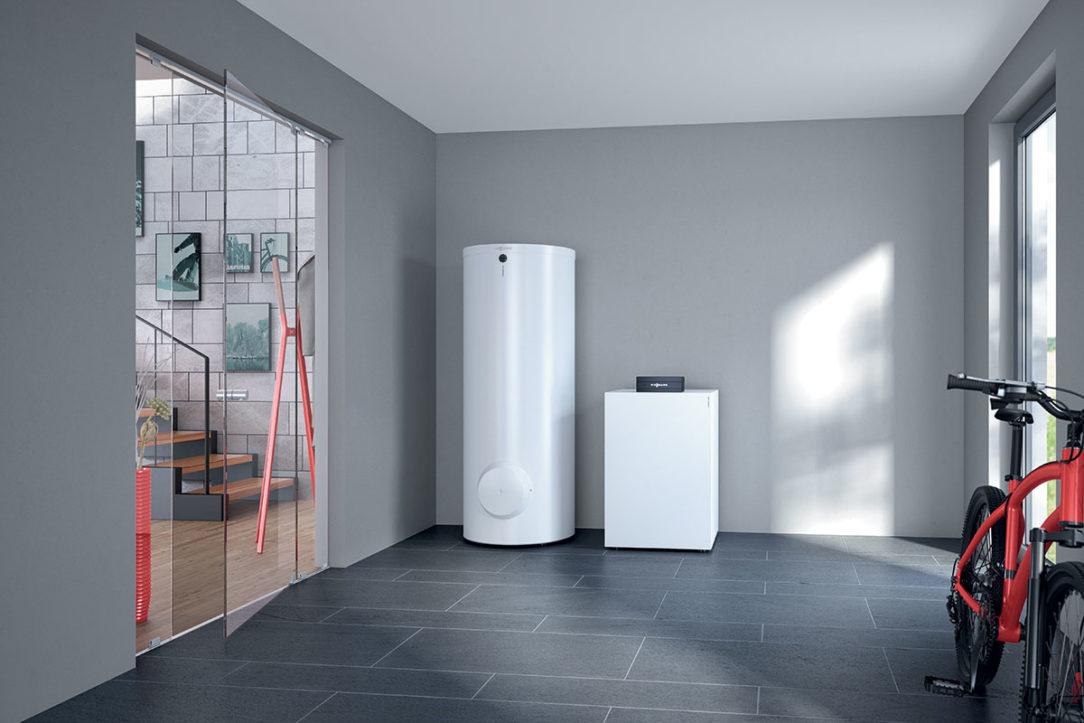 Nové tepelné čerpadlo zem/voda Vitocal 200-G od spoločnosti Viessmann je cenovo zaujímavá alternatíva k zariadeniam série 300.