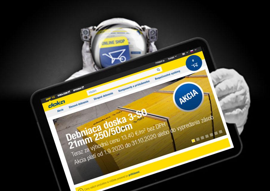 V Doka e-shope nájdete mnoho produktov často využívaných na stavbách za zvýhodnené ceny.