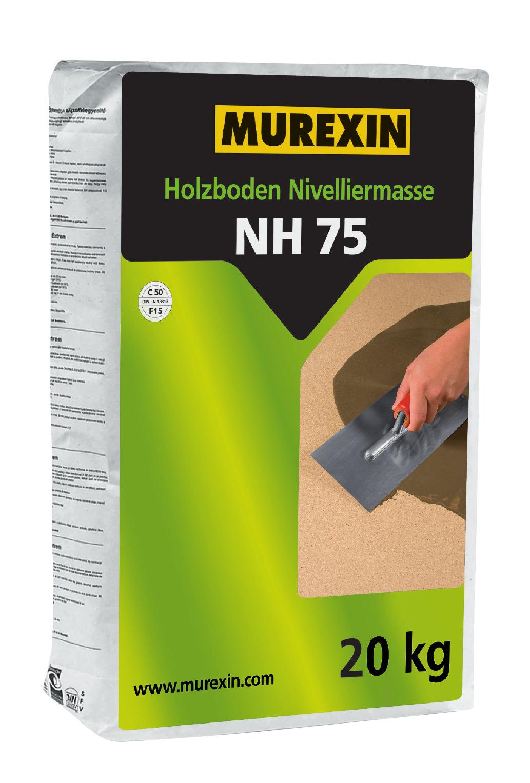 Nivelačná hmota na drevené podlahy NH 75