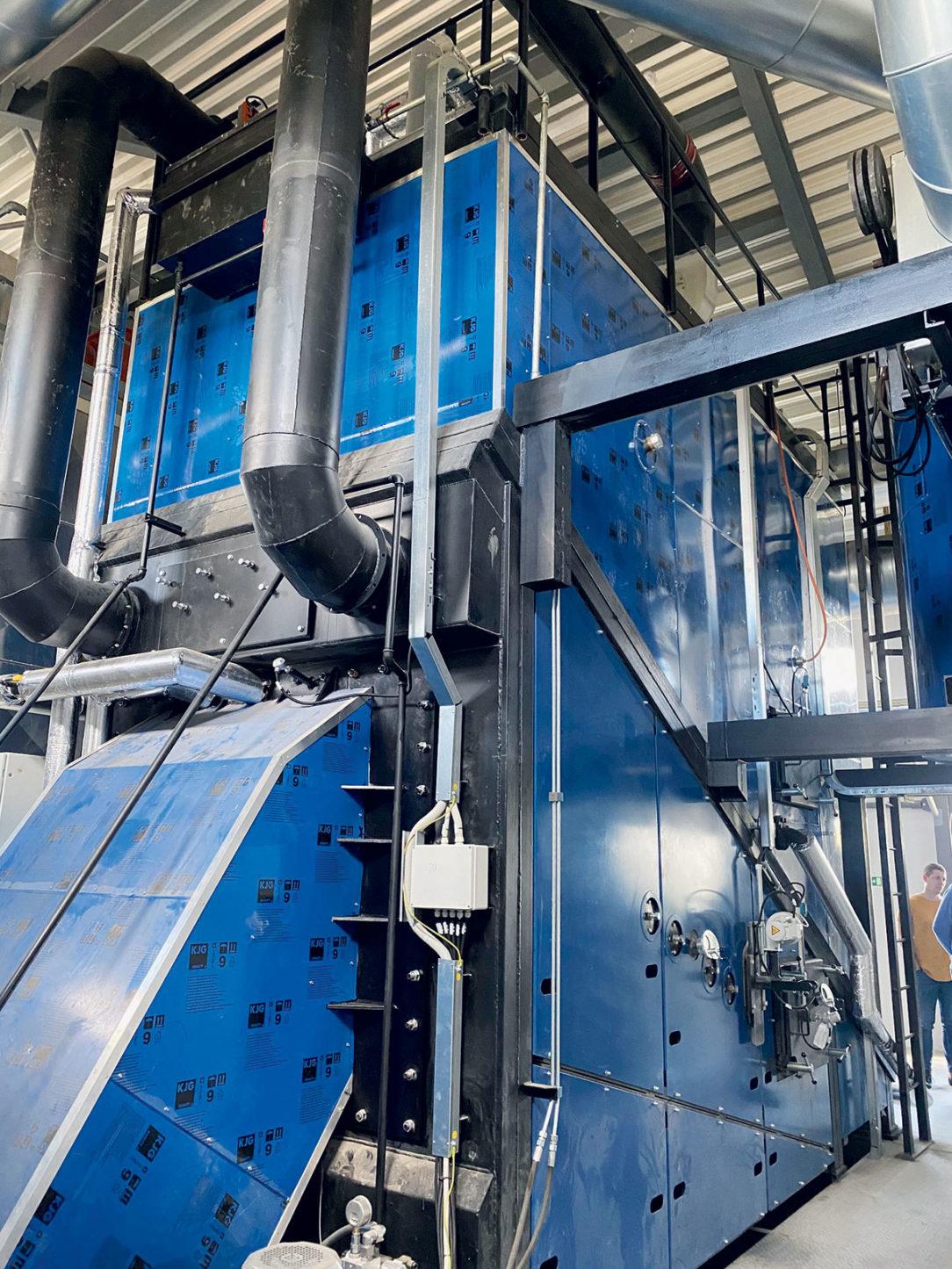 Obr. 2 Kotol VESKO-B od TTS boilers (1,5 MW) v Dukovanoch
