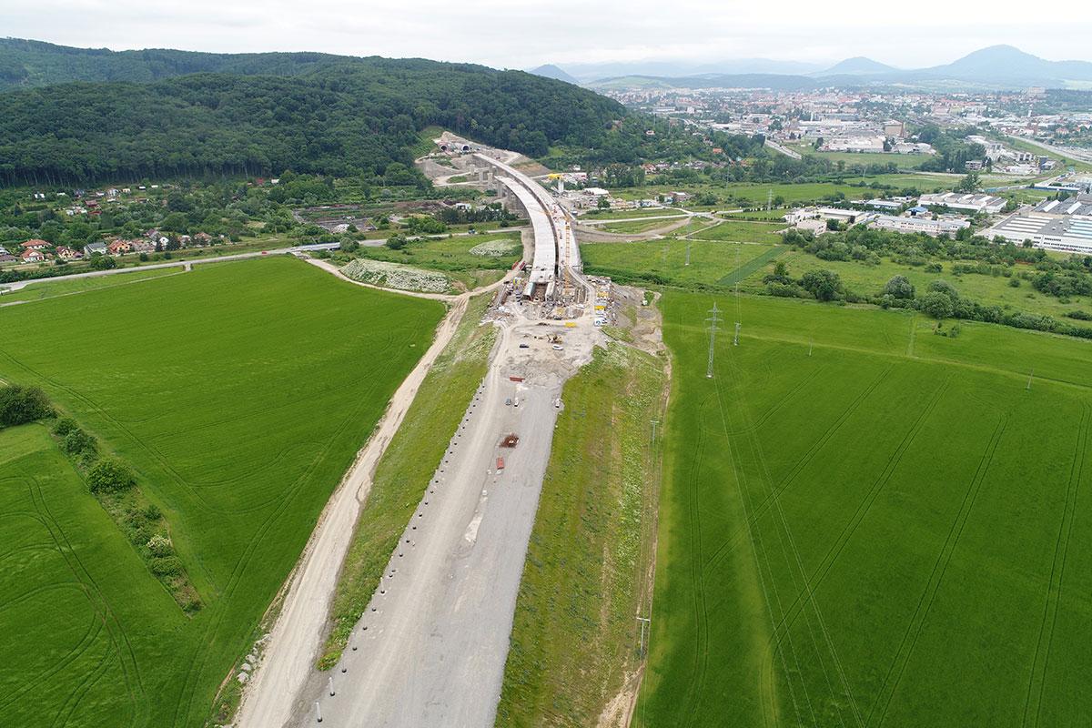SO 203-00 Most v km 98,4 cez údolie Malkovského potoka