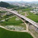 SO 206-00 Most v km 103,0 D1 cez rieku Torysu, nad železničnou traťou a cestou I/6