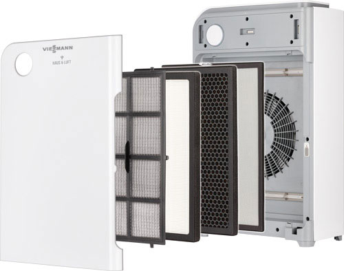 Čistička vzduchu Airhome 15-OP, komponenty produktu.